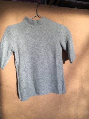 Bershka Turtleneck Shirt light grey
