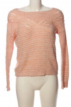Bershka Cable Sweater nude cable stitch casual look