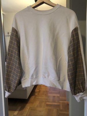 BERSKA Sweatshirt mit kariertem Muster