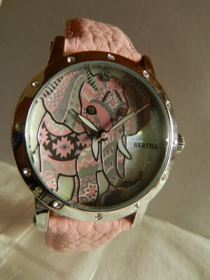 bertha Analog Watch multicolored metal