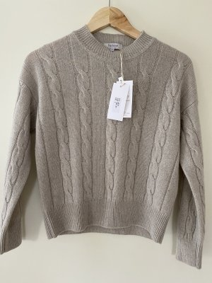 Bertolini Jersey trenzado gris claro