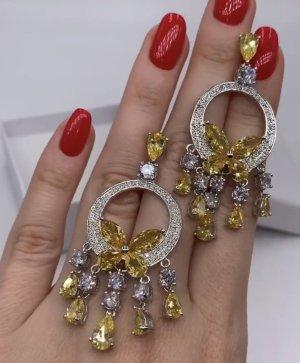 Pessina-Jewelry Pendientes de oro blanco-amarillo