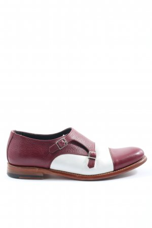 Berwick Strapped pumps red-white casual look