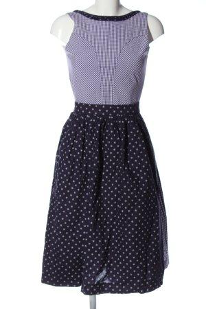 Berwin & Wolff Dirndl lilac-white check pattern classic style