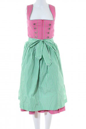 Berwin & Wolff Dirndl pink-green check pattern classic style