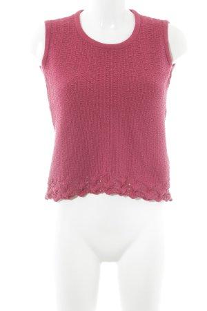 Berwin & Wolff Fine Knitted Cardigan magenta