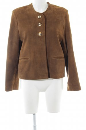 Berwin & Wolff Leather Jacket brown business style