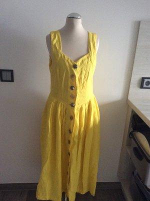 Berwin & Wolff Sukienka o kroju litery A żółty