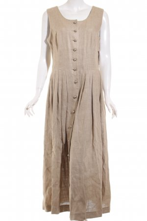 Berwin & Wolff Midi Dress beige-silver-colored casual look