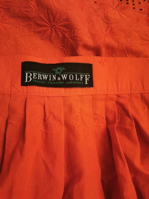 Berwin & Wolff Traditional Apron red