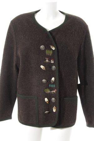 Berwin & Wolff Traditional Jacket dark brown-dark green
