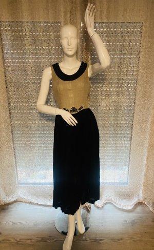 Berwin & Wolff Sukienka z krótkim rękawem czarny-kremowy
