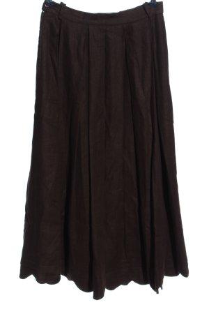 Berwin & Wolff Traditional Skirt brown casual look