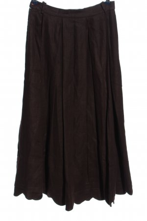 Berwin & Wolff Traditional Skirt brown casual look