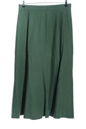 Berwin & Wolff Folkloristische rok groen zakelijke stijl