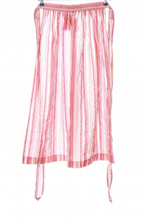 Berwin & Wolff Traditional Apron pink-white striped pattern casual look