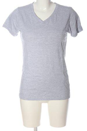 Berydale T-Shirt hellgrau meliert Casual-Look