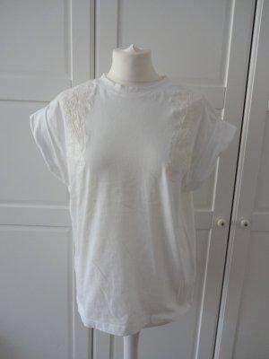 besondere Bluse mit paisley stickerei