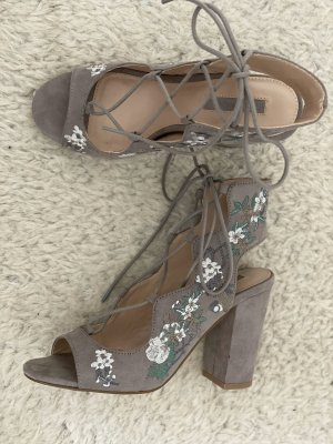 Miss Selfridge Escarpins à lacets multicolore