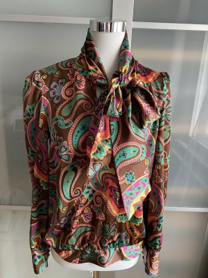 Paraphrase Tie-neck Blouse multicolored polyester