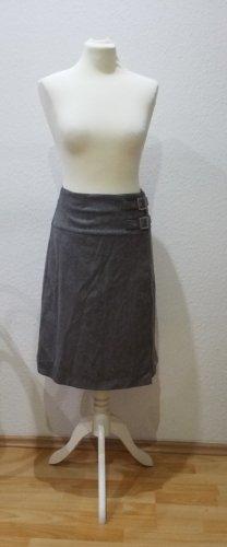 Benetton Wool Skirt grey