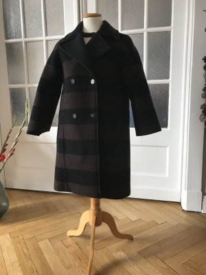 Max & Co. Wool Coat brown-black wool