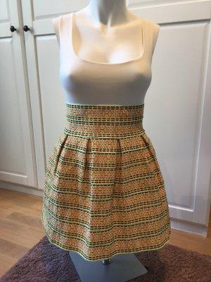 TERIA YABAR Flared Skirt multicolored