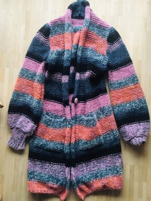Denny Rose Knitted Coat multicolored