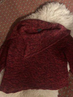 Topshop Wool Sweater black-bordeaux