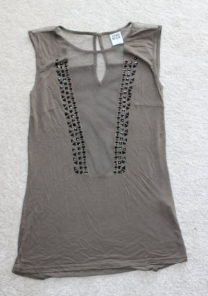 Vero Moda Top cut out caqui