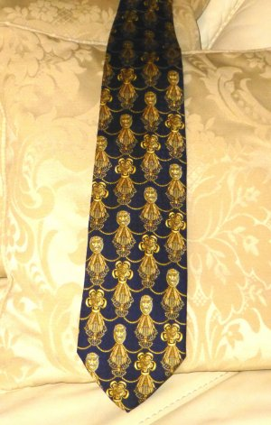 MCM Zijden doek donkerblauw Zijde
