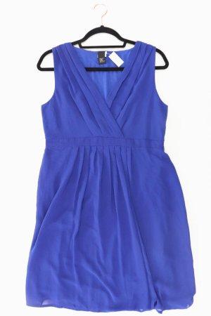 Best Connections Abendkleid Größe 40 neuwertig Träger blau aus Viskose