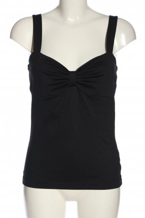 Best Connections Top tipo bustier negro look casual