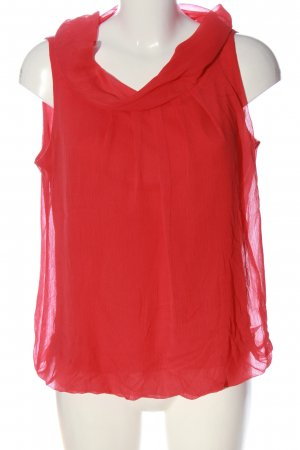 Best Connections ärmellose Bluse rot Casual-Look