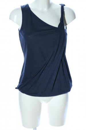 Best Connections Blusa sin mangas azul look casual