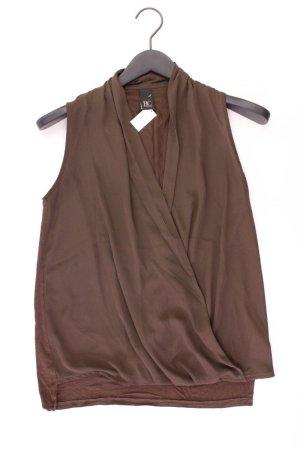 Best Connections Ärmellose Bluse Größe 34 braun aus Viskose