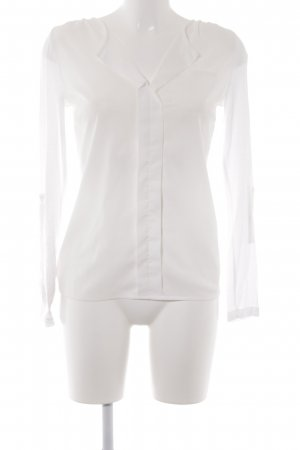Best Connections Empiècement de blouses blanc style classique