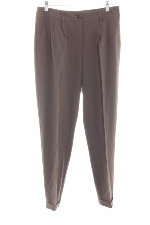 Best Connections Bundfaltenhose braun Business-Look