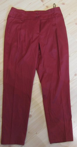 BEST CONNECTIONS: Bundfaltenhose hoher Bund, weinrot, Gr.38K(19), NEU