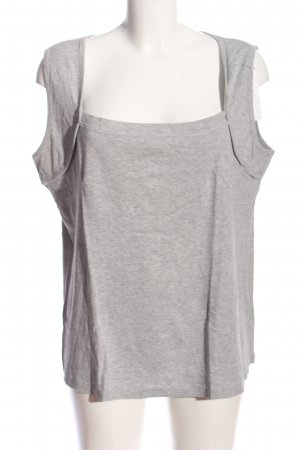Best Connections Knitted Top light grey flecked casual look