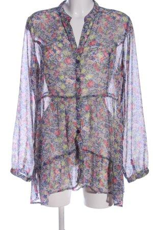 Best Connections Koszulowa bluzka Wzór w kwiaty Elegancki