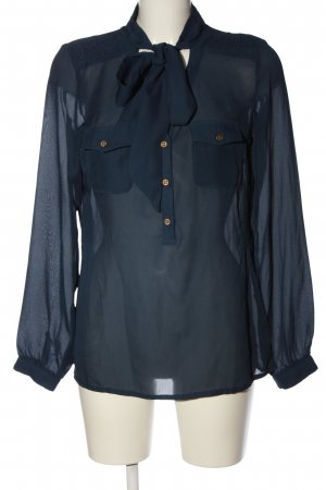 Best Connections Camicia blusa blu stile casual