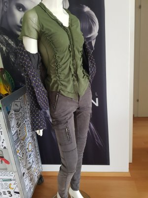 Best connections Hose grau Cargo Style skinny shirt ital Boutique Pilatus Blazer small