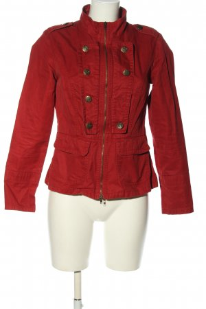 Best Connections Jeansjacke rot Casual-Look