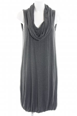 Best Connections Jerseykleid grau-dunkelgrau meliert Casual-Look