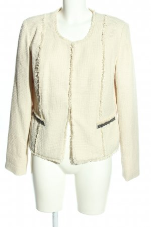 Best Connections Short Jacket cream casual look