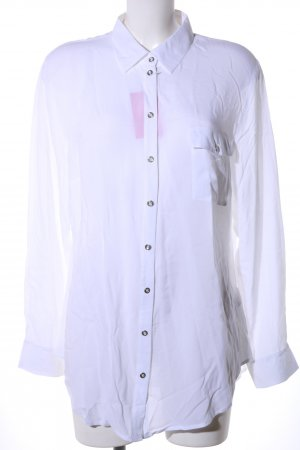 Best Connections Langarm-Bluse weiß Business-Look