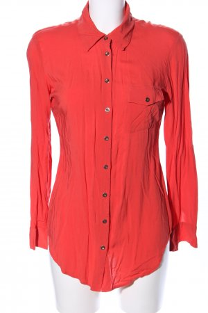 Best Connections Langarm-Bluse rot Casual-Look