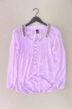 Best Connections Long Sleeve Blouse lilac-mauve-purple-dark violet polyester