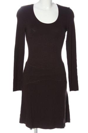 Best Connections Sukienka z długim rękawem brązowy W stylu casual